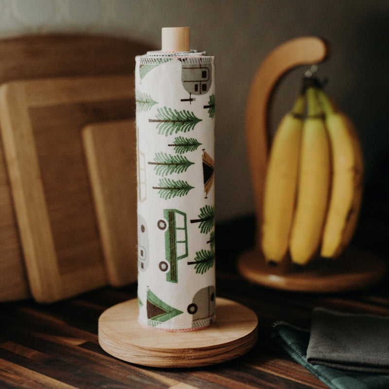 Marley's Monsters 24 UNpaper Towels + Holder Set