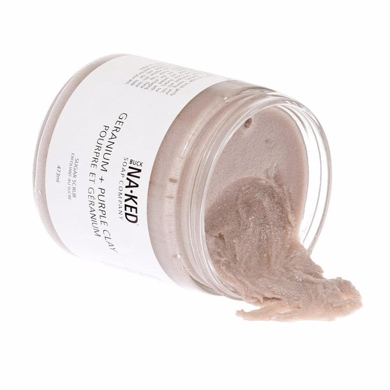 Buck Naked Sugar Scrubs
