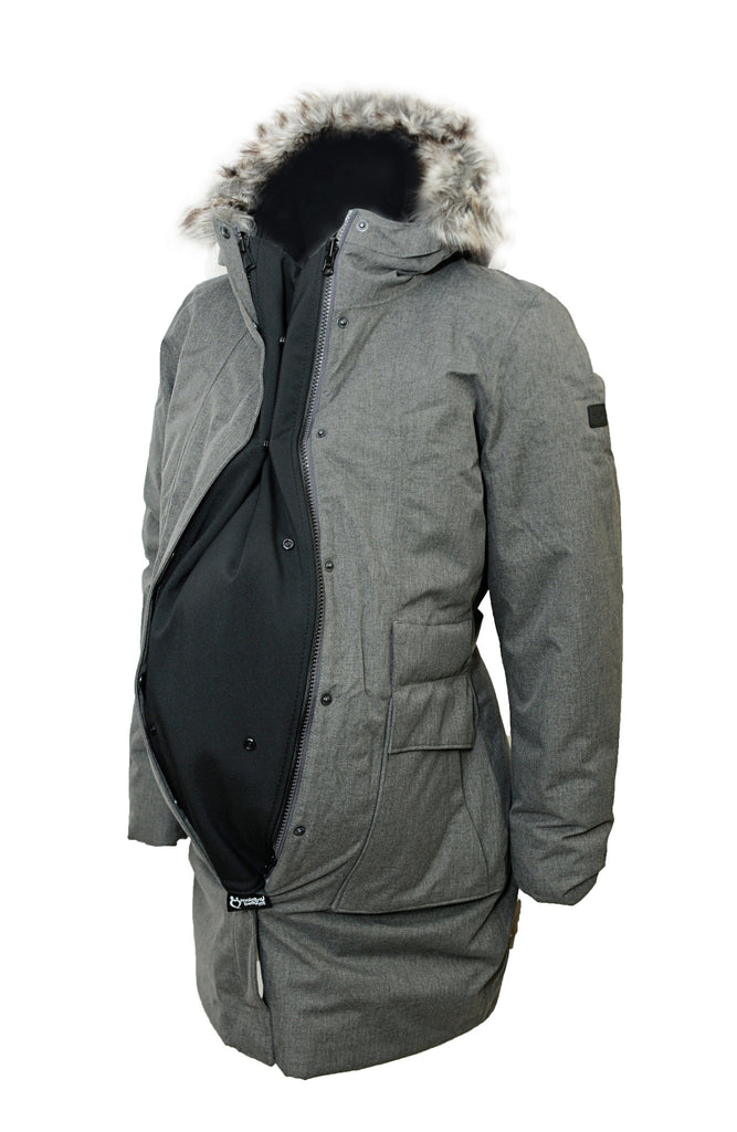 BellyFit Zip-In Jacket Extender + Warmth Layer