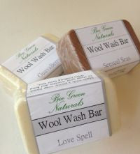 Bee Green Naturals Wool Wash Bar