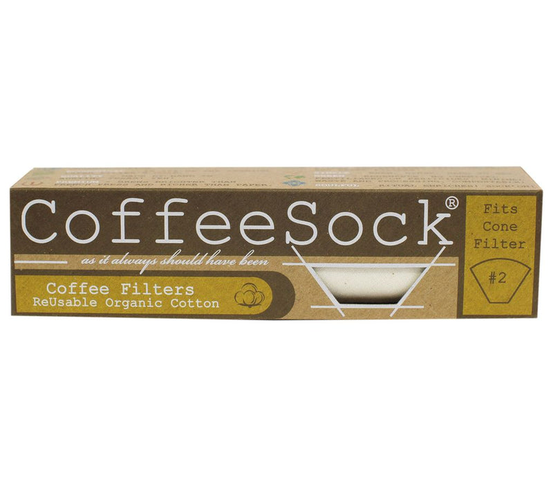 CoffeeSock Cone Filters  - Pack of 2