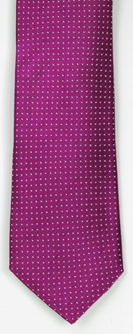 SERICA SILK MID GREY/BLACK MICRO CHECK TIE