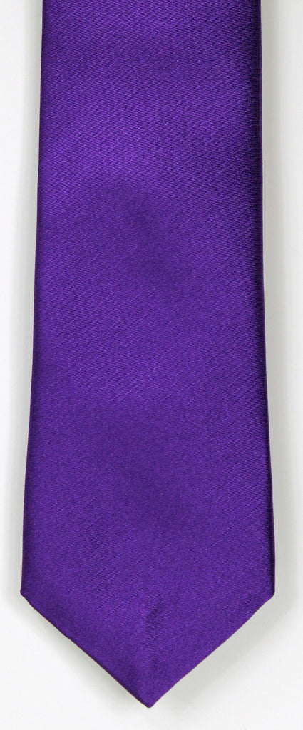SERICA SILK PURPLE TIE