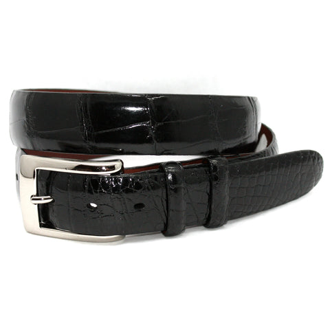 American Alligator Black 30mm Belt