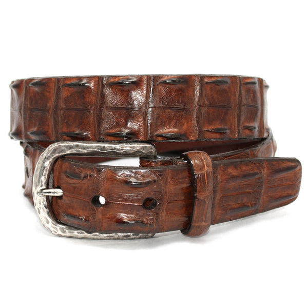 Hornback Crocodile Cognac 35mm Belt