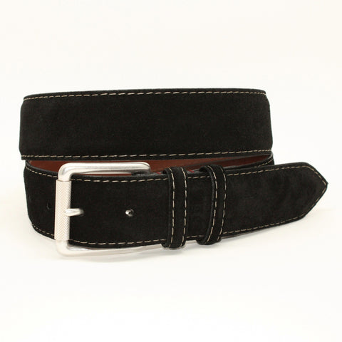 Alligator Embossed Calfskin Black 35mm Belt