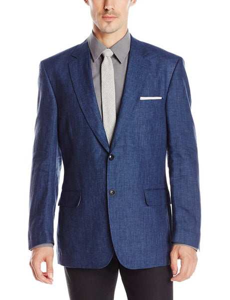 Palm Beach Brock Navy Linen Suit Separate Jacket