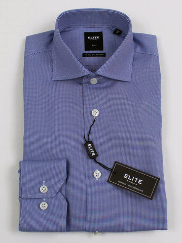 SERICA ELITE SLIM NAVY MICRO GINGHAM