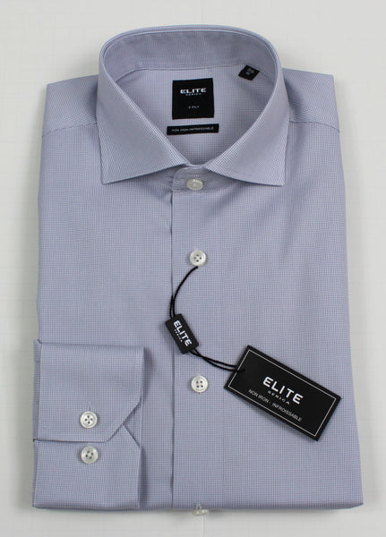 SERICA ELITE SLIM MID GREY MICRO GINGHAM