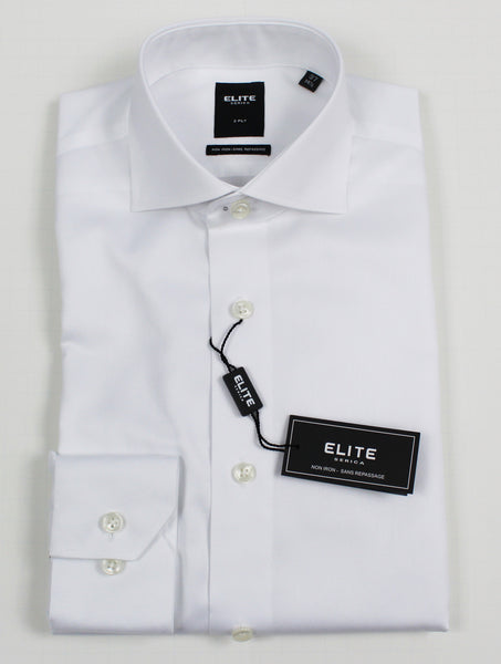 SERICA ELITE SLIM WHITE TWILL