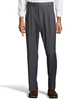 Palm Beach Executive Grey Pleat Expander Pant