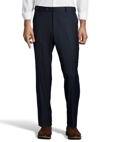 Palm Beach Executive Navy Plain Front Expander Pant