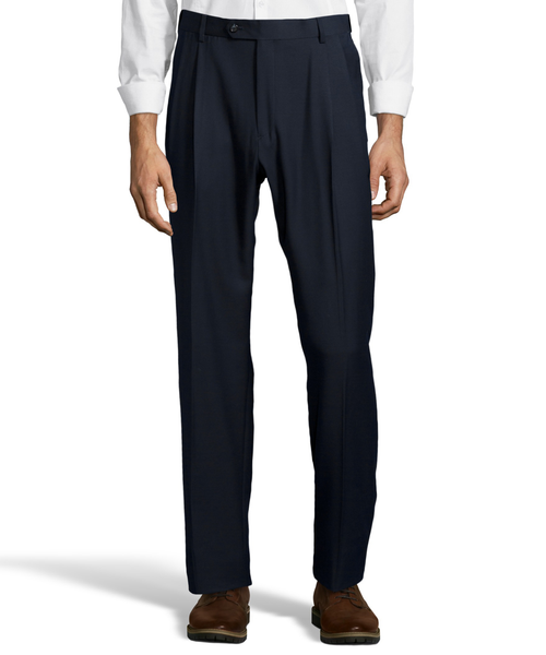 Palm Beach Executive Navy Pleat Expander Pant