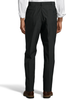 Palm Beach Wool/Poly Charcoal Flat Front Expander Pant