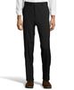 Palm Beach Wool/Poly Black Flat Front Expander Pant