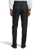 Palm Beach 100% Wool Gabardine Charcoal Flat Front Pant Big and Tall