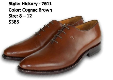 HICKORY OXFORD WHOLECUT COGNAC BROWN
