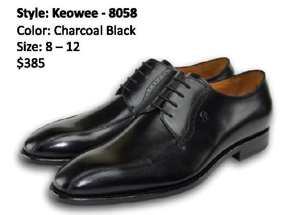 KEOWEE DERBY CHARCOAL BLACK