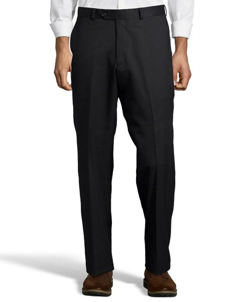 Palm Beach Chairman Black Plain Front Pant
