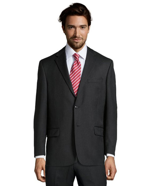 Palm Beach 100% Wool Charcoal Suit Jacket