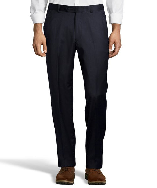 Palm Beach 100% Wool Navy Plain Front Suit Pant