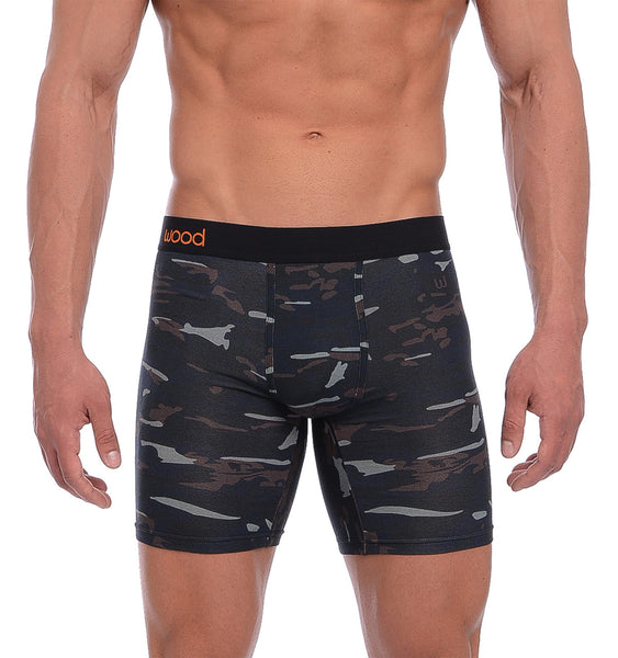 BIKER BRIEF - FOREST CAMO