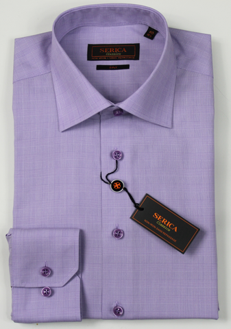 SERICA CLASSICS PURPLE GLEN PLAID