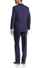 Palm Beach Boone Carbon Blue Poplin Two-Button Center-Vent Suit