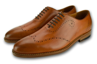 SAVANNAH OXFORD WHOLECUT SADDLE TAN