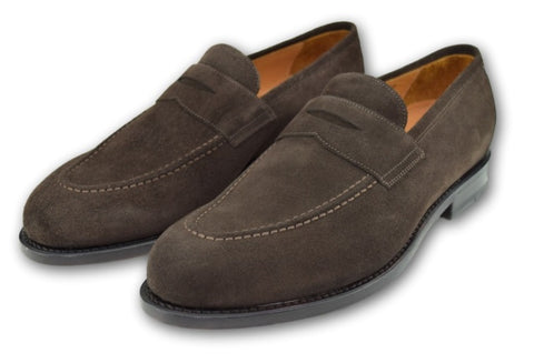AUGUSTA LOAFER WELL BRED BROWN SUEDE