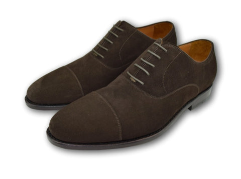 MACON OXFORD CAP TOE WELL BRED BROWN