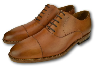 MACON OXFORD CAP TOE SADDLE TAN