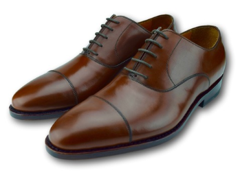 MACON OXFORD CAP TOE COGNAC BROWN