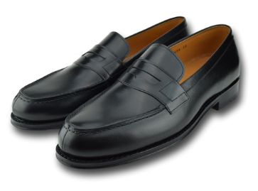 AUGUSTA LOAFER CHARCOAL BLACK