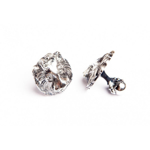 LION WITH CLAW CUFFLINKS