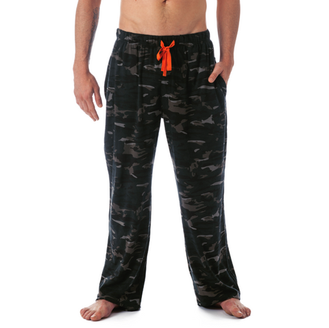 LOUNGE PANT WITH DRAW STRING - FOREST CAMO