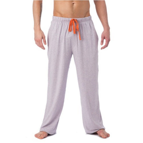 LOUNGE PANT WITH DRAW STRING - VIOLET GREY HEATHER