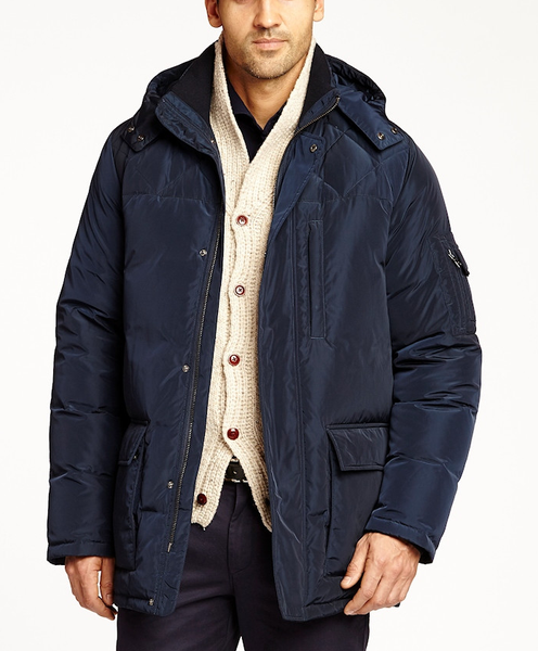 KROON OUTERWEAR 100% DOWN MAYFIELD NAVY