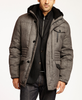 KROON OUTERWEAR 100% DOWN MILES GREY HERRINGBONE