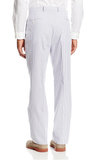 Palm Beach 'Original' Navy/White Seersucker Center-Vent Suit - Blue Lion Men's Apparel - 4