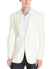 Palm Beach Brock Oyster Linen Suit Separate Jacket - Blue Lion Men's Apparel
