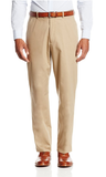 Palm Beach Boone Khaki Poplin Two-Button Center-Vent Suit - Blue Lion Men's Apparel - 3