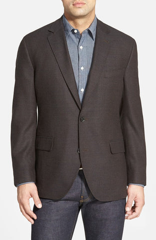 KROON THE EDGE CHARCOAL CORDUROY