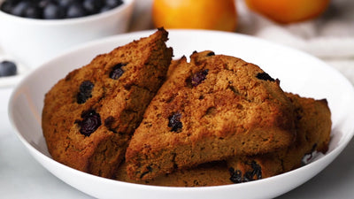 Apple Flour Blueberry Scones by Randy Boyer