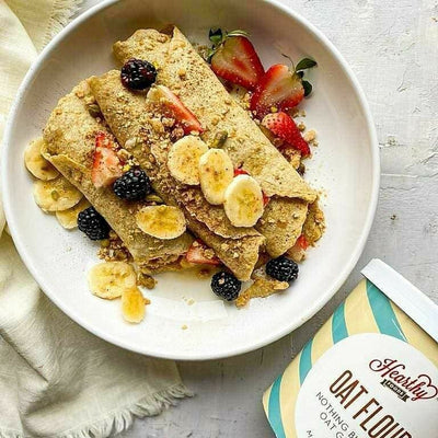 Oat Flour Crepes gluten free