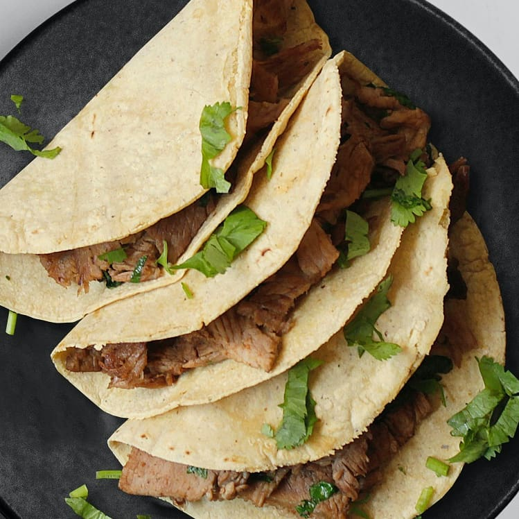 split pea flour tortillas