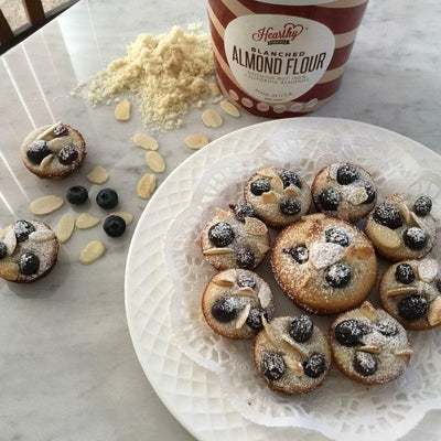 Almond Tea Cookies (Almond Blueberry Financiers/Friands)