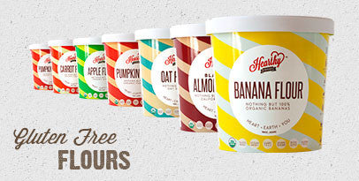 Our newest line of 100% All Natural Flours