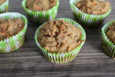 Carrot, Apple and Coconut Muffins That Are Delicious (Good For You)!