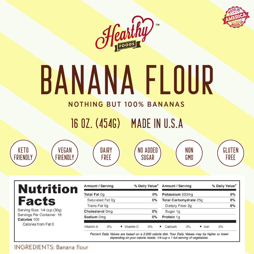 Banana Flour- Handcrafted